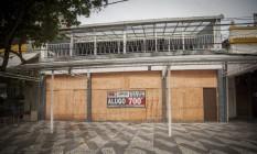 A Academia de Niterói deixou de funcionar depois de 18 anos Foto: Analice Paron / Agência O Globo