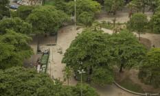 Vista da Praça General Osório, em Ipanema Foto: Analice Paron / Agência O Globo