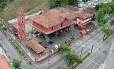 O quartel hoje, visto do alto Foto: Arquivo