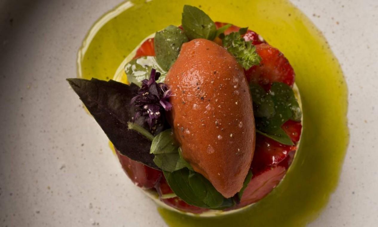 Salada Caprese da Cozinha do Artagão Foto: Divulgação