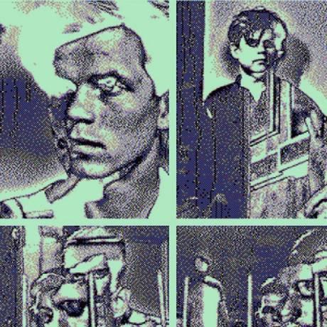 """""""Pixel art"""". Uma das obras de Adriano Motta, que utiliza mecanismos digitais em sua produção artística Foto: Divulgação/Digital Provocateurs"""