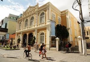Teatro Municipal de Niterói Foto: Brenno Carvalho / Agência O Globo