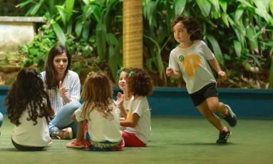 A Escola Parque da Gávea oferece uma colônia cercada pela natureza Foto: Brenno Carvalho / Agência O Globo