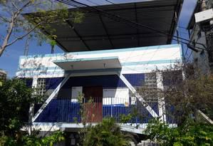 Um dos postos do IMC está localizado no Morro Azul, favela do Flamengo Foto: Divulgação