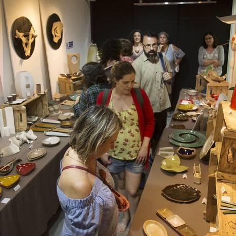 As cerâmicas de Gabriella Civitate marcam presença outra vez em 2018 Foto: Divulgação/Felipe O'Neill