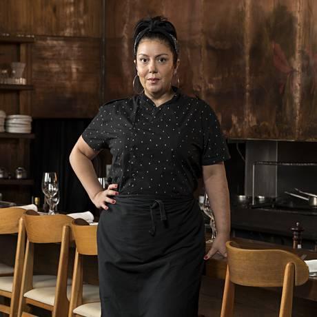 A chef Ludmilla Soeiro conheceu nos EUA a cozinha que faz hoje Foto: Divulgação/Rodrigo Azevedo