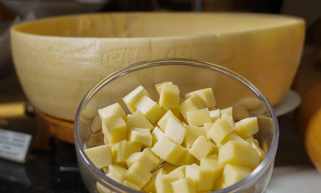 A Estrela do Sul serve queijo no almoço (R$84,90 de terça a domingo) Divulgação