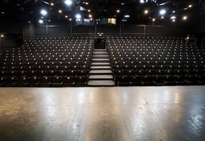 Palco do Teatro dos 4, no Shopping da Gávea, faz 40 anos em 2018 Foto: Gustavo Miranda / Agência O Globo