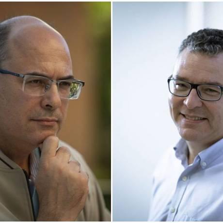 Os candidatos ao governo do estado falam suas propostas para região da Barra Foto: Alexandre Cassiano / Leo Martins / Agência O Globo