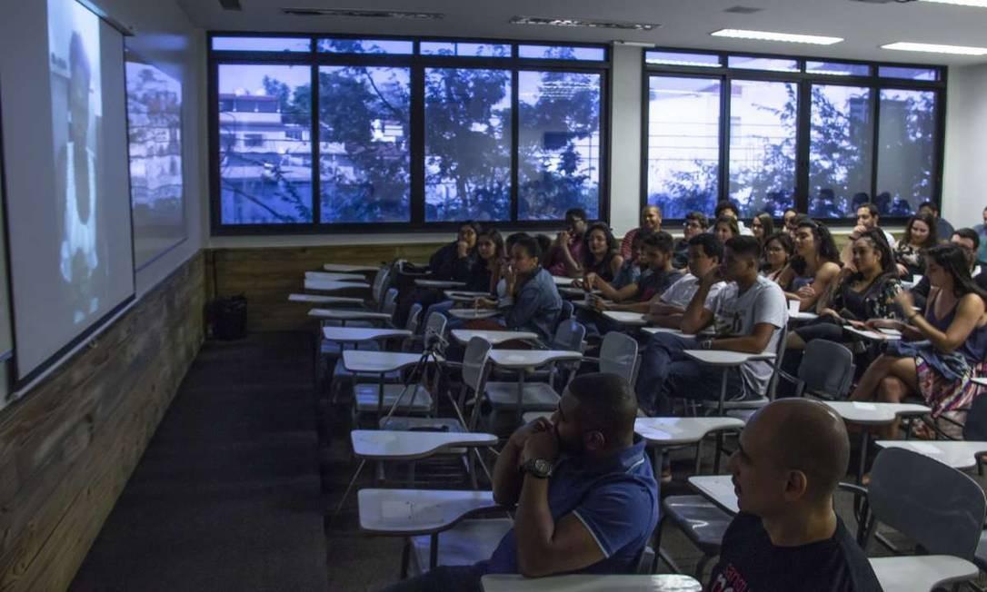 Turma de 2018 do pré-vestibular social Apis. Foto: Divulgação/Gabriel de Carvalho