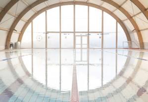 Uma das piscinas retratadas por Maritza Caneca. Foto: Divulgação/Maritza Caneca
