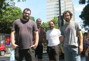 O quarteto mineiro do projeto