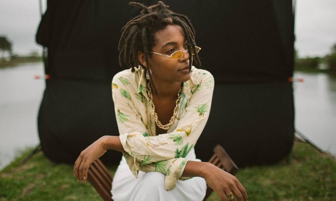 Bia Ferreira. A artista carioca viraliza na internet com música sobre cotas e desigualdade Foto: Divulgação