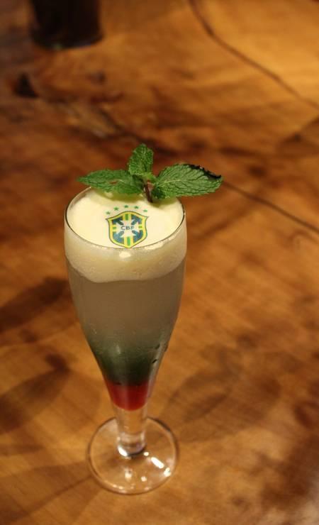O drinque Campeón, do Restaurante Aberlado, no Hilton Barra Foto: Divulgação