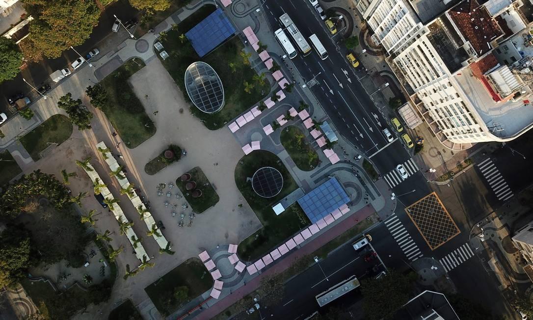 O bairro tem o valor médio por metro quadrado mais alto do Rio desde 2011: mais de R$ 22 mil. Foto: Custódio Coimbra / Agência O Globo