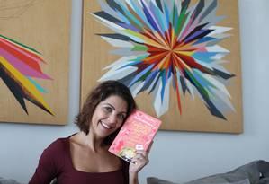 """Thalita Rebouças. Carinho especial pelo evento onde começou """"catando leitores"""" e foi consagrada Foto: Pedro Teixeira / Agência O Globo"""
