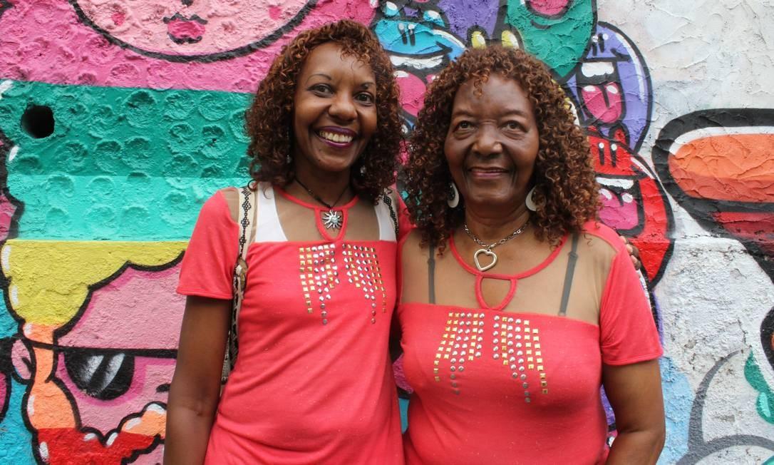 Silvania (à esquerda) e Helena em Santa Teresa Foto: Agência O Globo / Ana Beatriz Marin