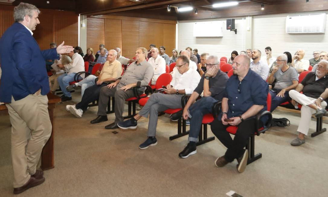 Seminário Lagoa Viva. Evento no Marina Barra Clube discutiu temas ligados ao meio ambiente Foto: Marcelo de Jesus