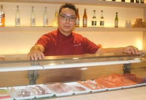 Marcelo Yamasaki veio de São Paulo para comandar a cozinha do Tokkuri Foto: Nathan Diniz / Divulgação