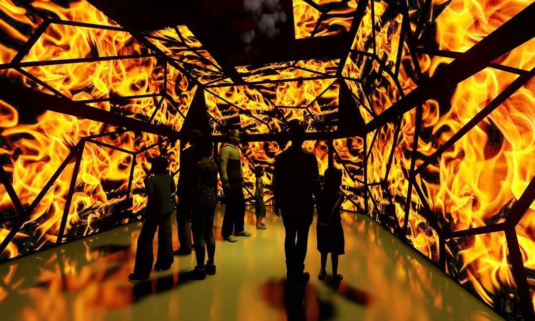 Exposição vai contar com seis ambientes diferentes, que vão tratar do tema da emergência climática Foto: Divulgação
