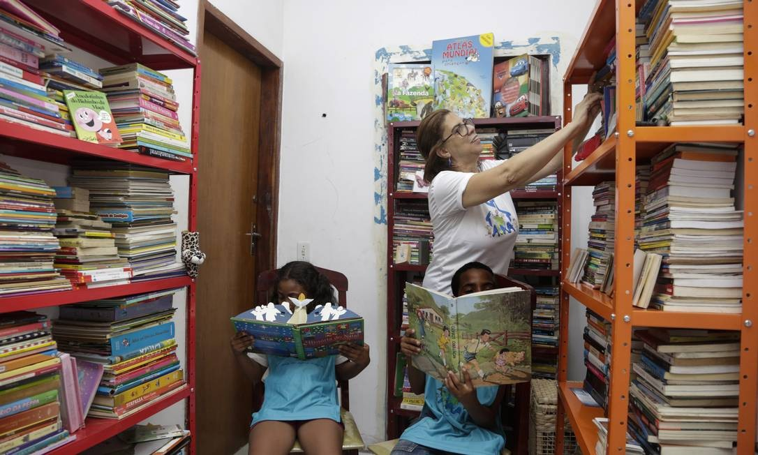 Casa da alegria dá suporte à crianças e adolecentes de familias muito pobres Foto: Marcos Ramos / Agência O Globo