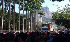 Bloco Vagalume faz o 12º desfile no Jardim Botânico Foto: Amanda Prado