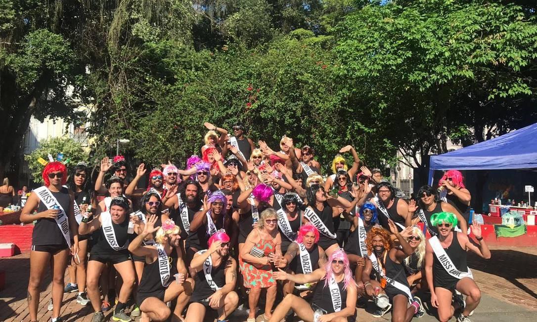 Grupo Misses Rio cresceu nos últiimos carnavais Foto: Arquivo Pessoal