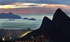 Amanhecer no Morro Dois Irmãos Foto: Thiago Lontra / Agência O Globo
