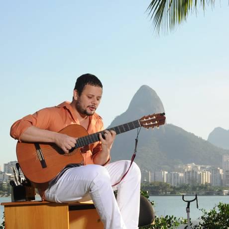 O cantor e compositor Moyseis Marques Foto: Agência O Globo