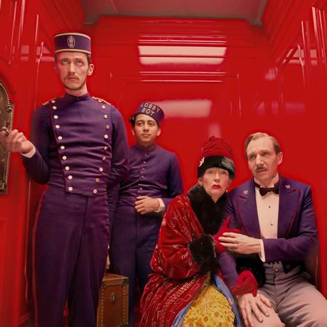 'O grande hotel Budapeste', de Wes Anderson, deu o quarto Oscar a Milena Canonero Foto: Martin Scali / Divulgação