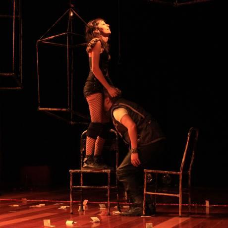 'Zoológico': na peça, o sexo é ferramenta de manipulação Foto: Brunier Bulcão / Brunier Bulcão