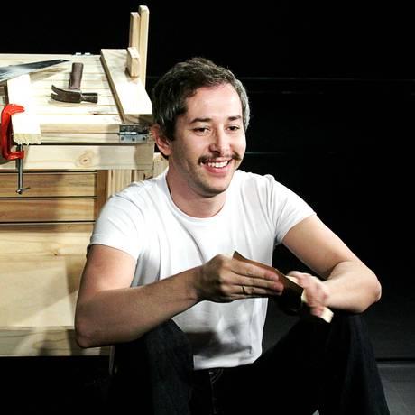 Michel Blois na peça