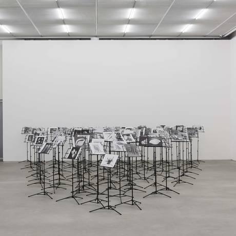 O artista Nino Cais apresenta a obra