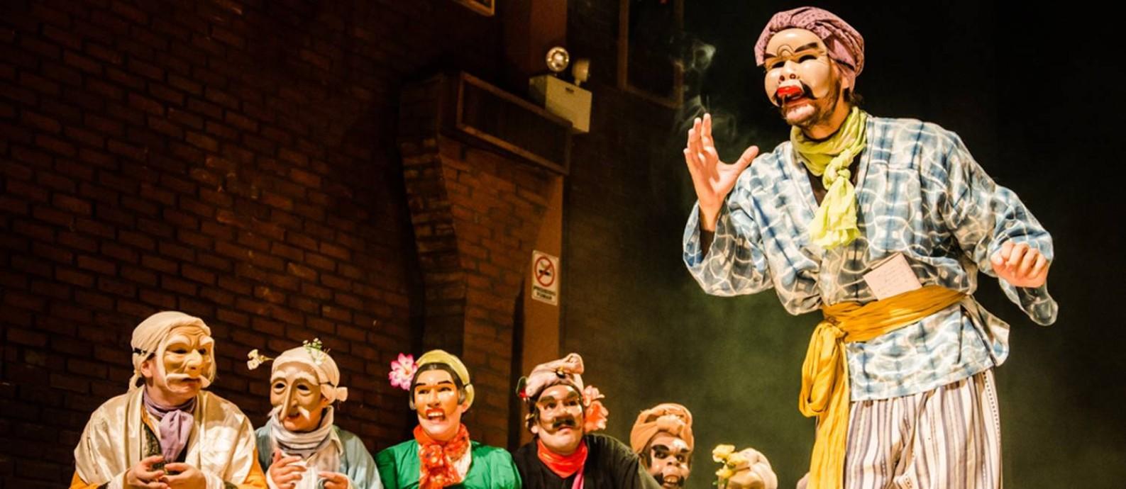 Batalhinha. Espetáculo de improvisação com máscaras estreia temporada no Teatro Ipanema Foto: Divulgação / Aline Macedo / Divulgação / Aline Macedo
