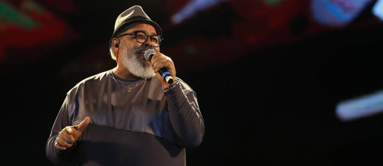 Jorge Aragão é uma das atrações da semana Foto: Roberto Moreyra / Agência O Globo