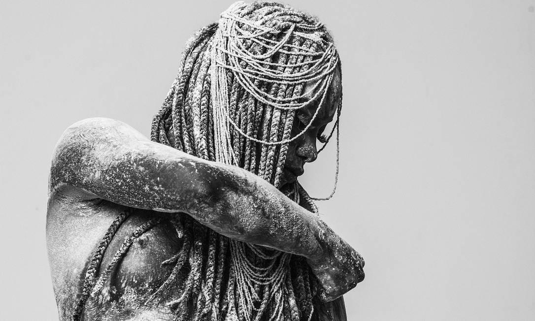 Obá, a senhora dos redemoinhos, seria Joana D'Arc, de acordo com o sincretismo religioso Foto: Daryan Dornelles