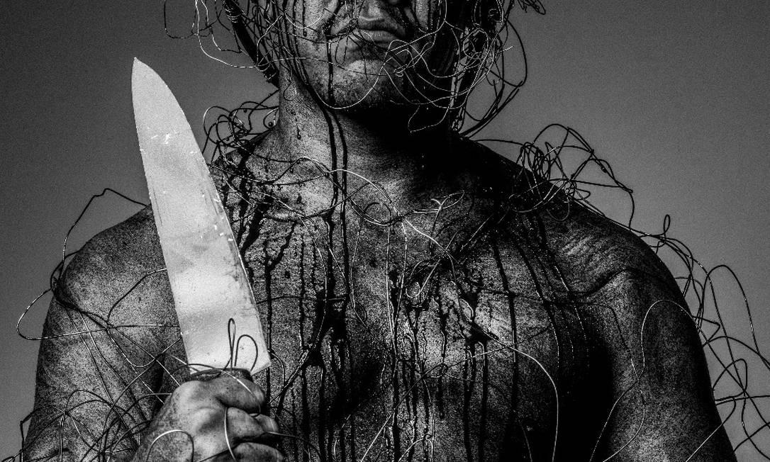 Ogum, o orixá guerreiro, registrado pelo renomado fotógrafo Daryan Dornelles Foto: Daryan Dornelles