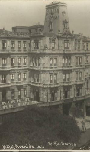 Hotel Avenida, que ficava na Av. Rio Branco Foto: Augusto Malta / Divulgação