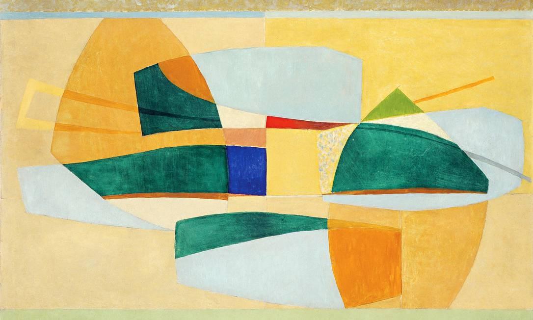 'Abstração' (1951) Foto: Divulgação