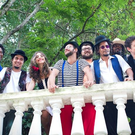SX Rio de Janeiro (RJ) 30/04/2015 banda Giras Gerais. Foto Divulgação Foto: Divulgaçao