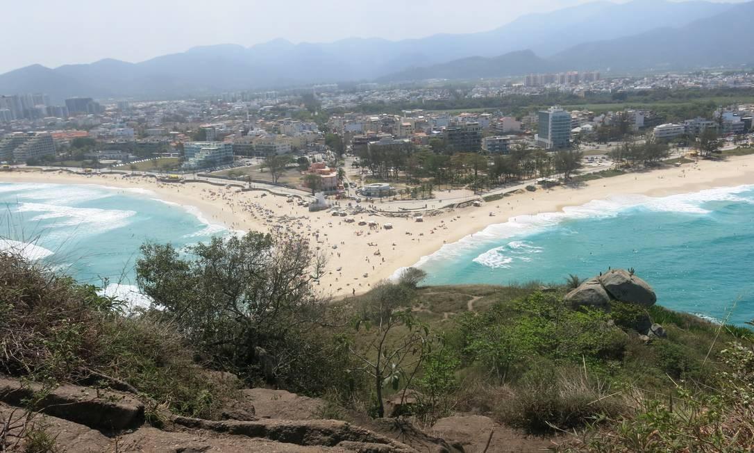"""ORLA. A praia do Pontal, no Recreio, foi imortalizada por Tim Maia no groove de """"Do Leme ao Pontal"""". Foto: Agência O Globo"""