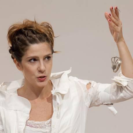 A atriz Georgiana Góes Foto: Nil Caniné / Divulgação