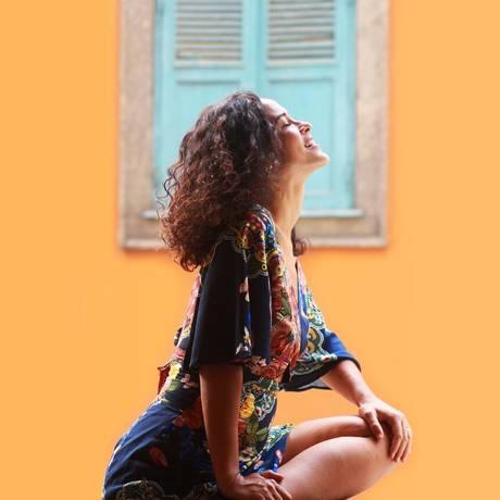 A cantora baiana Rachel Lessa Foto: Emanuela Palma / Divulgação
