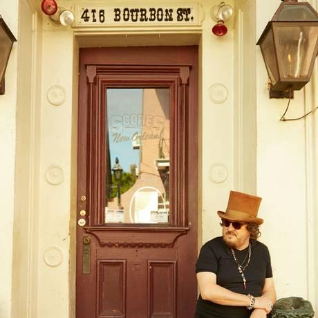 O cantor italiano Zucchero Foto: Ari Michelson / Divulgação