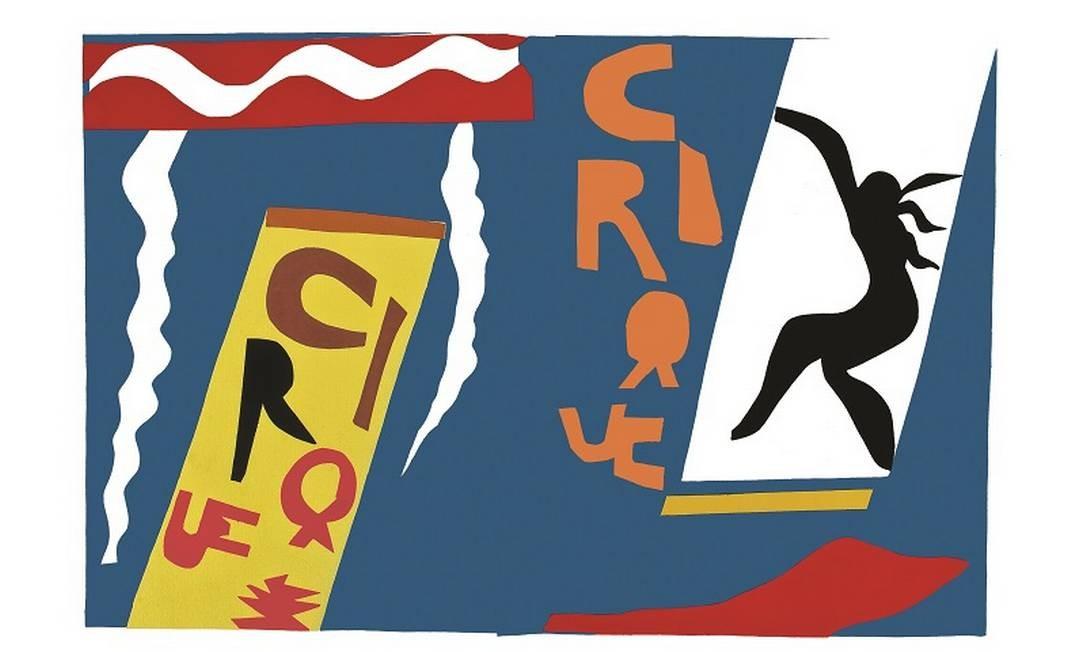 As obras são do álbum de número 196, pertencente ao acervo dos Museus Castro Maya. Na foto, 'O Circo'. Foto: Divulgação