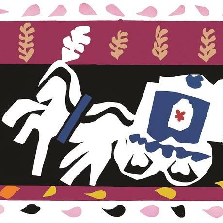 'O enterro de Pierrot' na mostra de Henri Matisse Foto: Divulgação