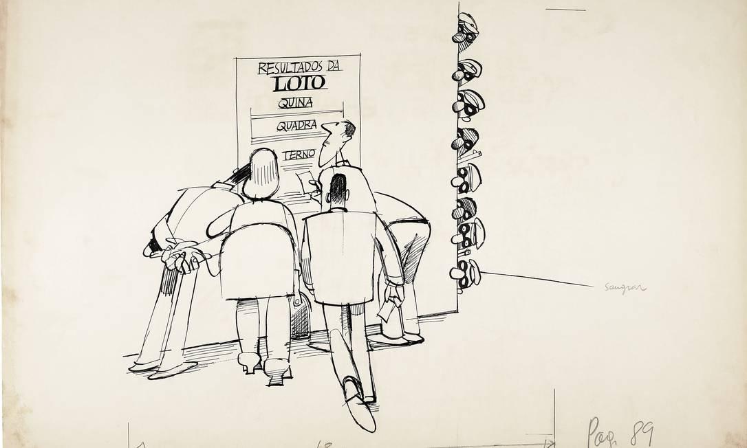 """As frases críticas e bem-humoradas de Drummond receberam o apelido de """"pipocas"""" e publicadas no Jornal do Brasil, entre 1979 e 1981 Foto: Divulgação"""