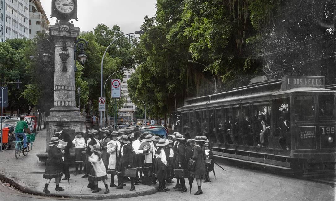 Na mostra, o Rio antigo mistura-se ao contemporâneo na união de imagens captadas pelos dois fotógrafos, um no século XX, outro no século XXI. Em destaque, o Bairro da Glória. Grátis. Até 31 de dezembro Foto: Divulgação