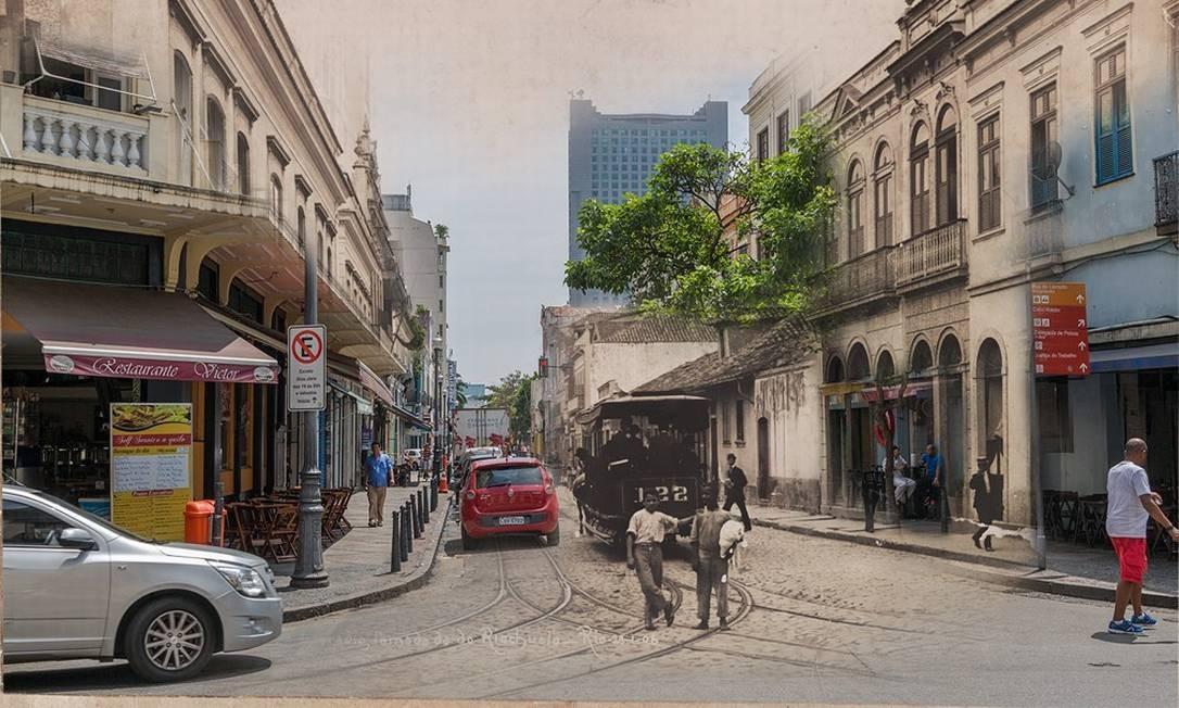 O projeto recebeu menção honrosa da Prefeitura/Comitê Rio450 anos, considerando-o como relevante para o jubileu da cidade do Rio de Janeiro Foto: Divulgação