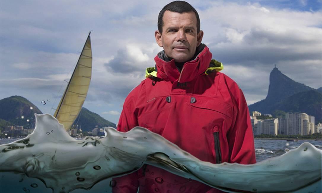 O iatista e medalhista olímpico, Torben Grael, também participa da mostra Foto: Bruno Castaign